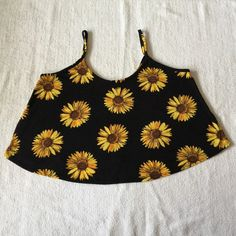 Spotted while shopping on Poshmark: Sunflower Swing Crop Tank Size Small! #poshmark #fashion #shopping #style #Tops