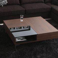 Coffee table with glass suit your home. My softwood interiors bespoke furnitures. Centre Table Living Room, Table Decor Living Room, Living Room Decor Inspiration, Centre Table Design, Tea Table Design, Home Coffee Tables, Decorating Coffee Tables, Central Table, Living Room Tv Unit Designs