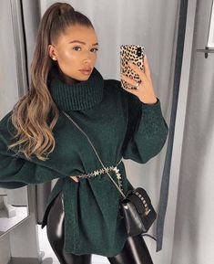 Minimalist Outfit Ideas For Fall 2019 Winter Mode Outfits, Simple Fall Outfits, Casual Winter Outfits, Winter Fashion Outfits, Classy Outfits, Autumn Winter Fashion, Cute Outfits, Fasion, Fashion Drug