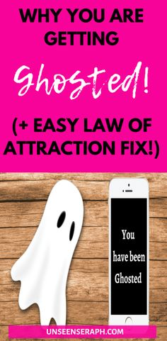 Getting ghosted sucks! Find out now why you are getting ghosted by your specific person and how to change that with the law of attraction and manifesting! What Is Ghosting, Revision Techniques, Online Dating Apps, Neville Goddard, Manifesting Money, Law Of Attraction Tips, Someone New, New Thought