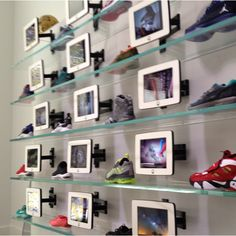 Sneakers and iPads at Unknwn