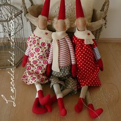 Check out the best Christmas Toys of Best Christmas Toys, Christmas Sewing, Scandinavian Christmas, Christmas Deco, Christmas Crafts, Fabric Toys, Cute Toys, Primitive Crafts, Christmas Inspiration