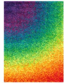 Loloi II Barcelona Shag Area Rug - This Rainbow rug would make a wonderful addition to any house. Discover why so many select to shop with RugStudio Rainbow Colors, Vibrant Colors, Rainbow Art, Rainbow Things, Rasta Colors, Rainbow Room, Rainbow Painting, Border Rugs, Rainbow Aesthetic