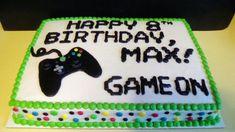 27 Best Image of Xbox Birthday Cake . Xbox Birthday Cake Gamer Birthday Sheet Cake With Xbox Controller Video Game Birthday Birthday Cake Video, Birthday Sheet Cakes, 18th Birthday Cake, 10th Birthday Parties, Happy Birthday Cakes, Birthday Ideas, Playstation Cake, Xbox Cake, Bolo Xbox
