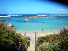 Greens Pool, William Bay - Western Australia.  Greens Pool is a beautiful spot on the south coast of Western Australia to stop and have a swim.  You can spend the whole day there with the family, it's very safe swimming although being on the Southern Ocean the water is really cold!