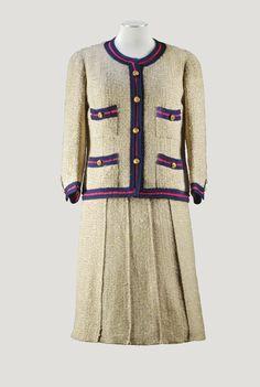 tailleur en tweed ficelle gans&eacu   clothes   sotheby's pf1570lot849ckfr