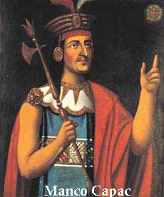 Manco Capac, was the name of the last of the Inca rulers, and the son of Huayna Capac. Manco Capac was supposedly crowned (1534) emperor by the Spanish conquistador Francisco Pizarro but was tolerated only as a puppet. He escaped, levieda huge army, and in 1536 laid siege to Cuzco, the Inca capital. The defense was commanded by Hernando Pizarro.