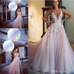 Charming Lavender Lace Organza Tarik Prom Dresses V Neck Puffy Skirt Evening Formal Party Dress 2016 V Neck Full Length Cheap Online Party Dresses Party Dress Websites From Baileycoltd, $110.56| Dhgate.Com