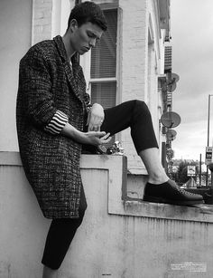 COUTE QUE COUTE: NEW WAVE MEN'S EDITORIAL »NEW BOOTS« SHOT BY JUDE KENDALL / STYLING BY DAVID ROBERTS
