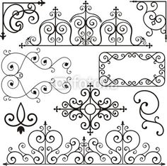 Wrought Iron                                                                                                                                                      Mais