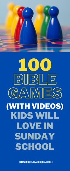 Kids love these free Bible games! Use them in Sunday school, midweek program, children's church, or even at home. #Biblegames #Biblegamesforkids #Biblegamesforyouth #Biblegamesforchurch #Sundayschoolgames #Childrenschurchgames #bestBiblegames #funBiblegames #Biblegamesandlessons #BibleGamesKids #SchoolBibleGames #VBSGames #GamesforVBS #GamesforKids #Biblegameideas #BibleClassGames #GamestoteachBible #BibleGameLessons #BibleFun Bible Games For Youth, Kids Church Games, School Games For Kids, Group Games For Kids, Sunday School Activities, Bible Lessons For Kids, Children Church, Kindergarten Sunday School, Youth Sunday School Lessons