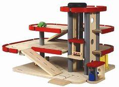 houten speelgoed  garage plan toys