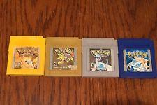 Pokemon Nintendo Game Boy 4 Games Only: Silver Gold Blue Pikachu  get it http://ift.tt/2grwjbR pokemon pokemon go ash pikachu squirtle