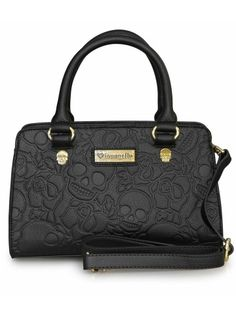 """Skull Rose"" Crossbody Bag by Loungefly (Black)"
