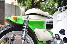 "Street Cub "" Green Peace "" by Newspeed Garage"