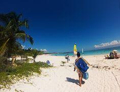 """A Girl & Her GoPro: Day Trip: Xpu-Ha Beach """"I'm in Heaven"""""""