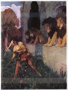 Artuš Scheiner - Illustration for Fairy Tales by Božena Němcová