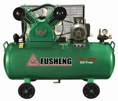 ĐẠI LÝ MÁY NÉN KHÍ PISTON FUSHENG CHÍNH HÃNG: Máy nén khí Fusheng HTA-65 2HP (220-380V)