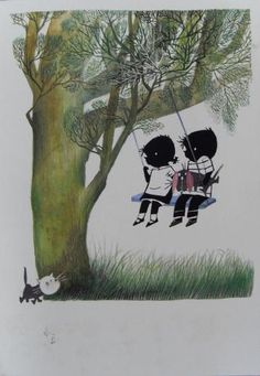 Jip en Janneke, characters by Fiep Westendorp from the books written by Annie M.G. Schmidt
