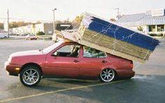 Alle bouwmaterialen worden aan huis geleverd. Op deze manier heeft niet alleen u, maar ook uw auto hier plezier van.