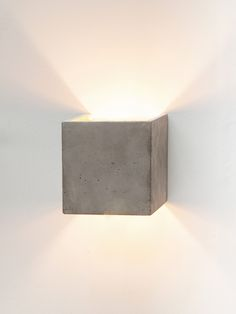 B3 Wall Light Cubic by Gant Lights made in Germany on CROWDYHOUSE