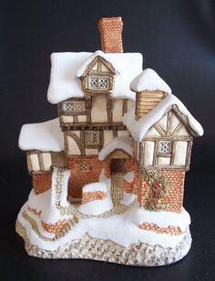 DAVID WINTER- 1987 -EBENEZER SCROOGE'S COUNTING HOUSE-  RETIRED