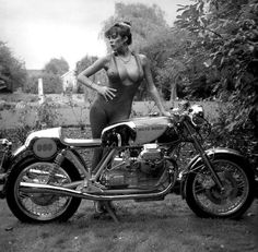 Cafe Racer Pin Up Moto <b>pinup</b> — love2rinsha: <b>cafe racer</b> dreams