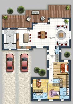 constructeur maison moderne nantes hauts pavés loire atlantique 44   Depreux Construction