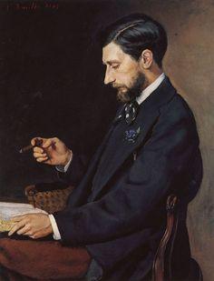 Bazille, Frédéric - Portrait of Edmond Maitre - Frédéric Bazille - Wikipedia
