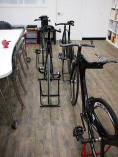 Carbon track bikes