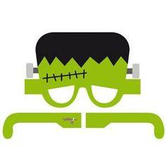Convierte a tu hijo en Frankestein con estas gafas-careta.