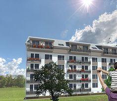 Pozrite si náš najnovší projekt, v ktorom budujeme 5 nových podkrovných bytov v meste Pezinok, v príjemnom prostredí Malých Karpát. Byty sa stavajú na 5. poschodí v bytovom dome na ulici Muškátová. Aj Vy môžete bývať v modernom a zaujímavo dispozičnom byte rôznych veľkostí, v tejto atraktívnej lokalite pár kilometrov od Bratislavy. Viac o projekte tu www.asid.sk/muskatova
