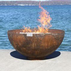Big Bowl O' Zen Sculptural Firebowl