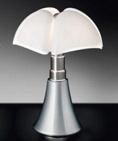 Lampe PIPISTRELLO aluminium www.justbstore.fr