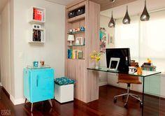 Selecionamos 30 ambientes para quem não abre mão do conforto na hora de trabalhar em casa