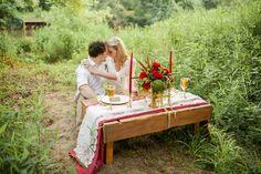 Vintage boho wedding inspiration | Crystal Reyns Photography | see more on: http://burnettsboards.com/2015/10/vintage-boho-riverside-wedding/