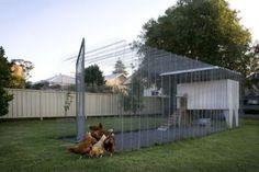 Architectura - Origami voor gevorderden: Chris Mullaneys ingenieuze kippenren