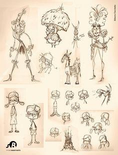 Character Design  by Alberto Cerriteño  (http://albertocerriteno.com)