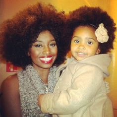 A mothers love. #naturalhair #teamnatural #teamnaturalhair
