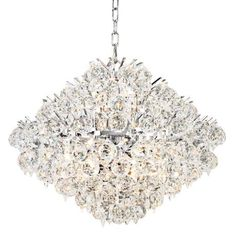 "Luminous Collection 48"" Wide Crystal Chandelier - #72842 
