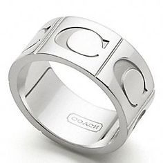 SIGNATURE C BAND RING