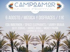 SORTEO: Dos entradas para el @CampoamorMusicF el próximo 6 de agosto. Es muy fácil participar. Concerts, Letter Board, Lettering, Prize Draw, Entrance Halls, Musica, Concert, Drawing Letters, Texting