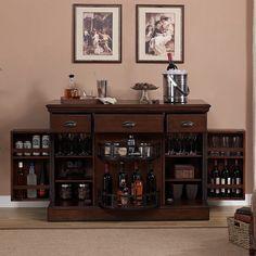 American Heritage Gabriella Bar Cabinet & Reviews | Wayfair