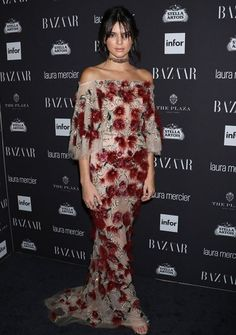 Yay or Nay ? Kendall Jenner during Harper's Bazaar ICONS party at the New York Fashion Week