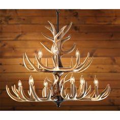 Outdoor plug in chandelier outdoor chandelier pinterest outdoor antler chandelier mozeypictures Gallery