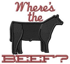 Where's The Beef by Grand Slam Designs