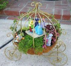 More Than 71 Easy Diy Fairy Garden Design Ideas Einfache Diy Fairy Garden Design Ideen - Bilmece Fairy Garden Houses, Gnome Garden, Fairies Garden, Disney Garden, Jardin Decor, Fairy Furniture, Miniature Fairy Gardens, Garden Planning, Container Gardening