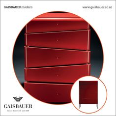 Marilyn Commode #gaisbauerfurniture #furnituremaker #furnituredesigner #furniture #furnituremakerscompany #furnituredesign #manufacture #manufaktur #tischler #designtischler #kunsttischler #madeinaustria #highquality #linz #kommode #chestofdrawers #red #interiordesigner #interiordesignlover #architekt #designlovers #specialfurniture  #lacquer #stylish #wooden #modern Luxury Furniture, Furniture Design, Maker, Furniture Collection, Designer, Dresser, Interior Design, Home Decor, Carpenter