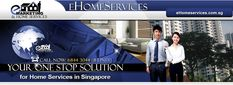 One Stop Solution For Home Services such as part time cleaner, aircon servicing, curtain and blinds, house office painting service, mover, kitchen cabinet, carpet cleaning and renovations in Singapore