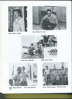Men who served in 3rd Division with me on the USS Belknap (CG 26)